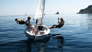 practicas de vela náutica